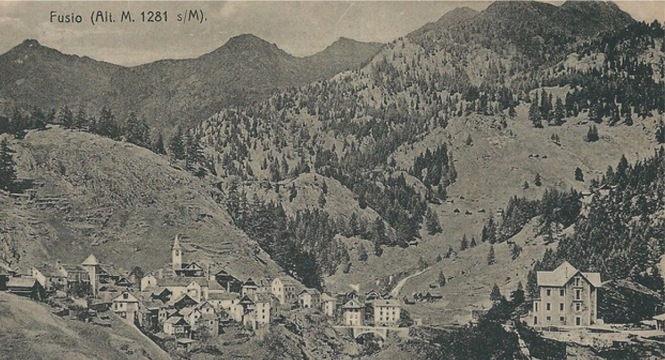 Villa Pineta Histoire Ancien