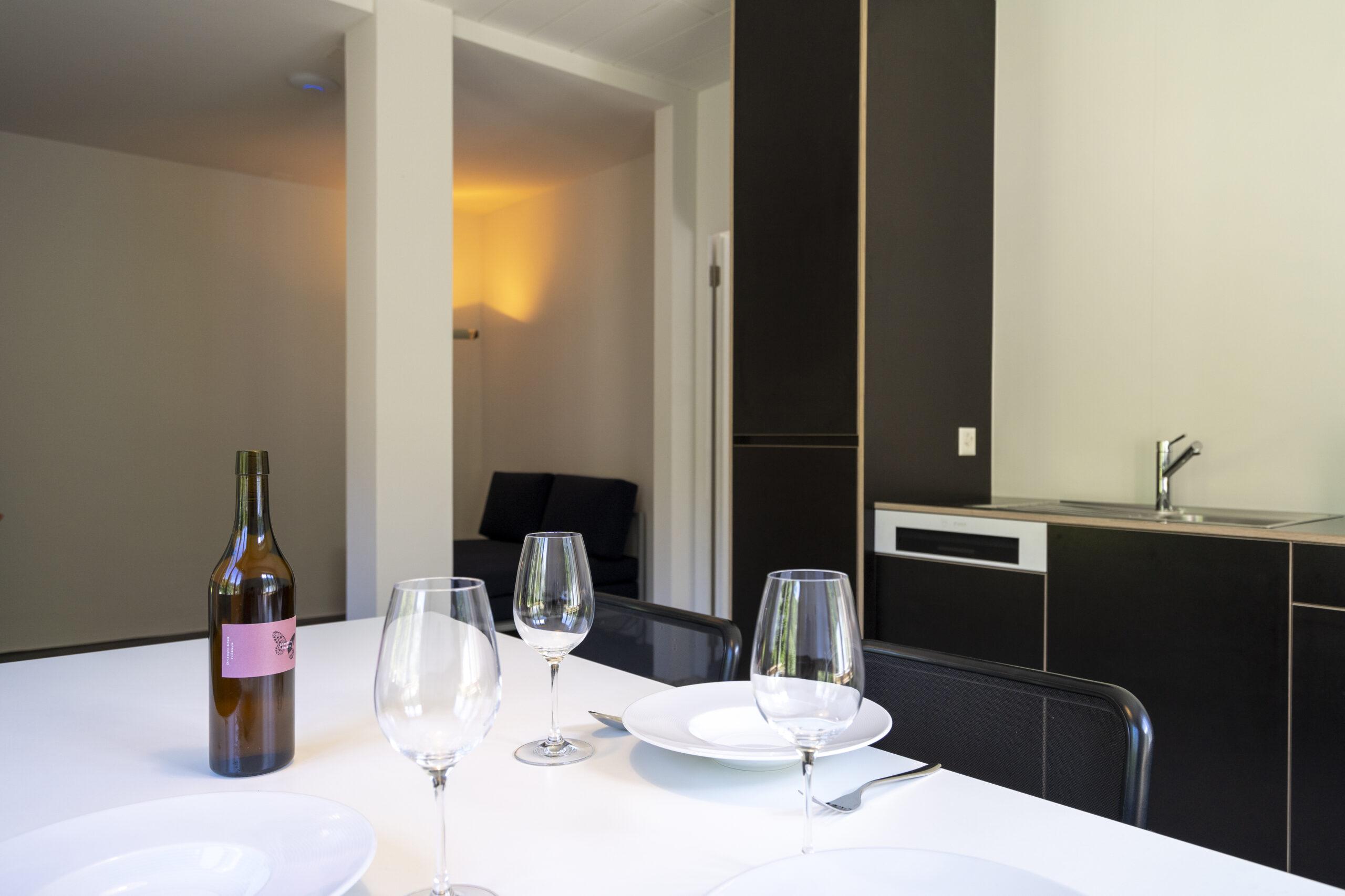 Villa Pineta Fusio Appartement 1 Cuisine