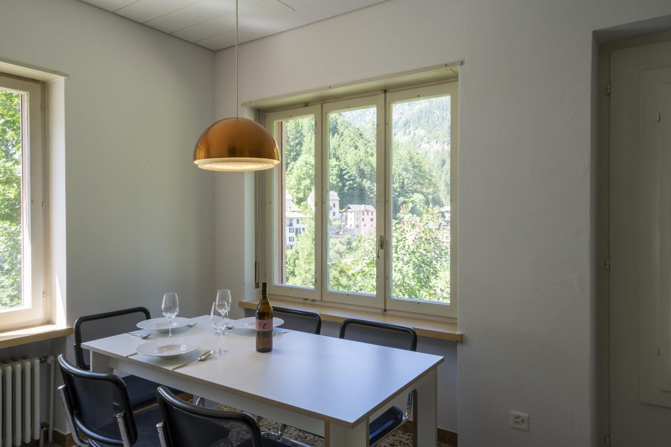 Villa Pineta Fusio Appartement 1 Cuisine Vue