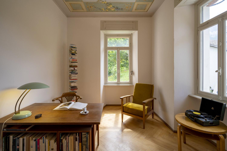 Villa Pineta Fusio Bibliothèque Sejourner