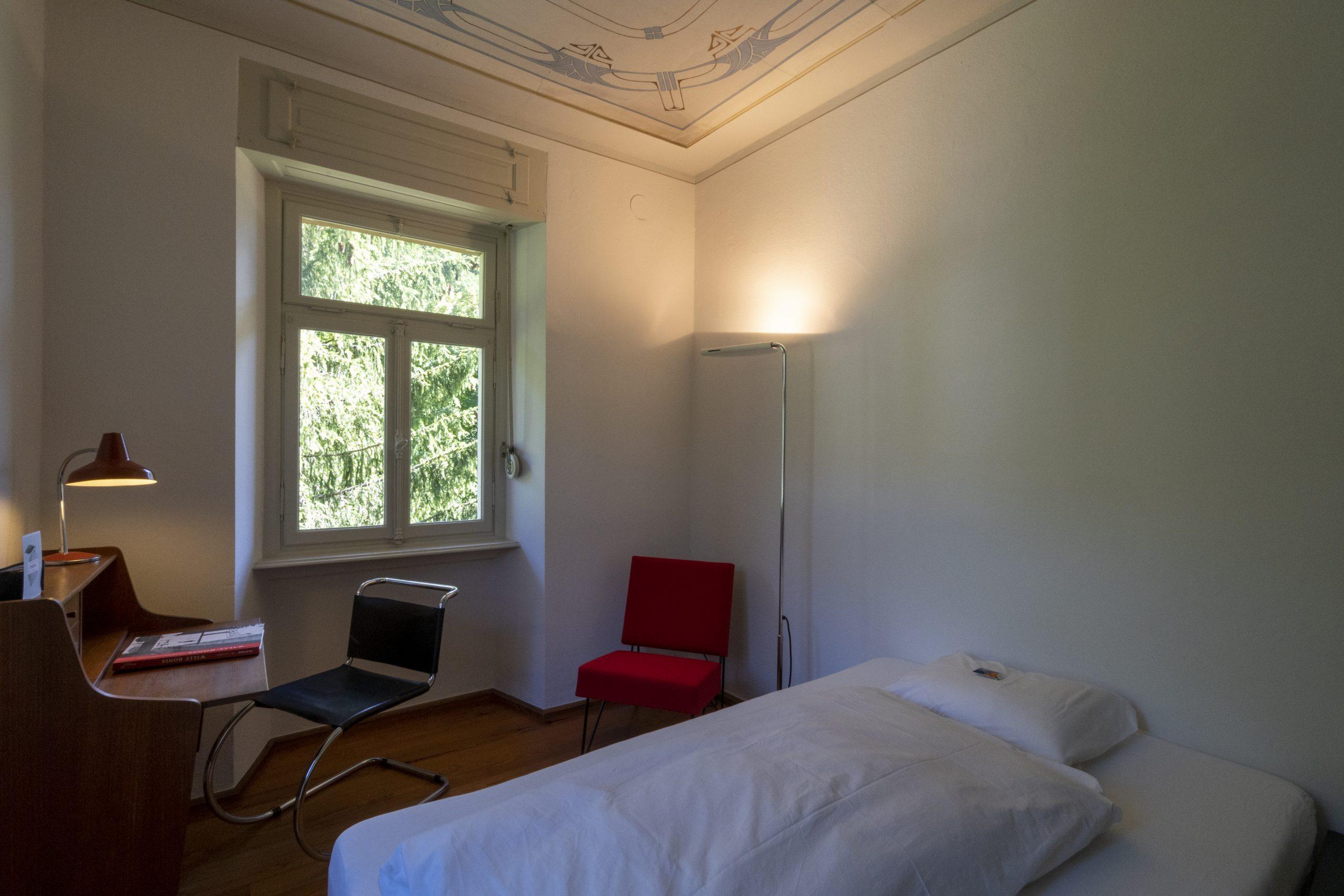 Fusio Villa Pineta Chambre 6 Fresque Biaisjpg