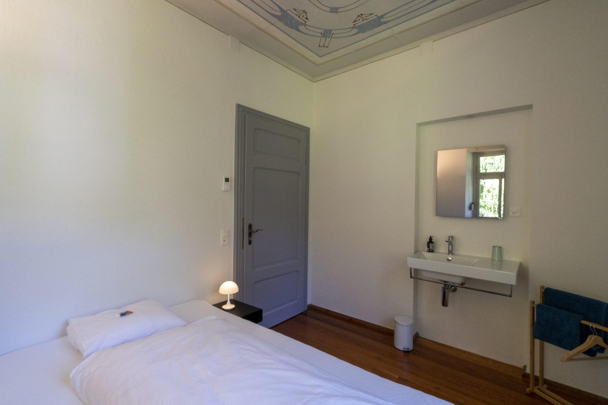 Fusio Villa Pineta Chambre 6 Lavabo